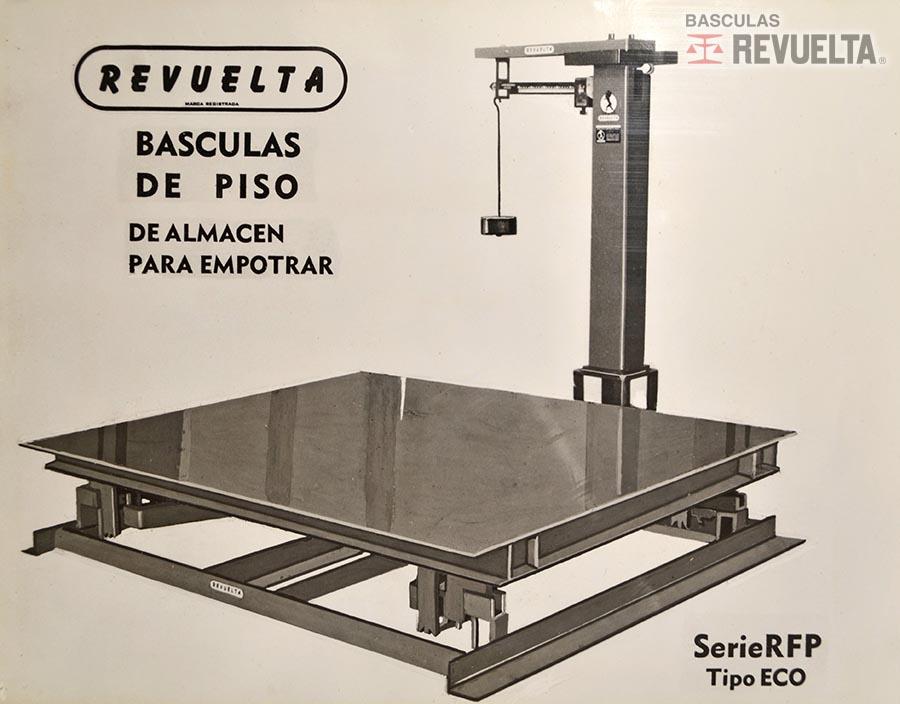 Fotos antiguas Básculas REVUELTA®