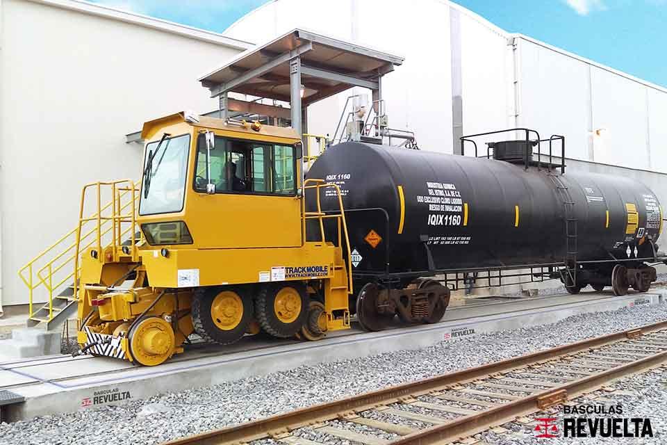 Resultado de imagen para bascula ferrocarril